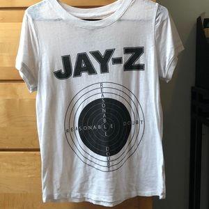 Jay-Z reasonable doubt album T-shirt